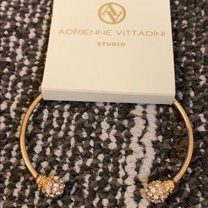 🆕 ADRIENNE VITTADINI Rhinestone Cuff Bracelet